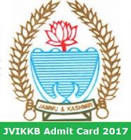 JKKVIB Admit Card 2017