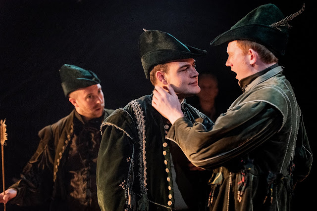 Dani Howard: Robin Hood - Oliver Brignall, Cliff Zammit Stevens, Nicholas Merryweather - The Opera Story (Photo Robert Workman)