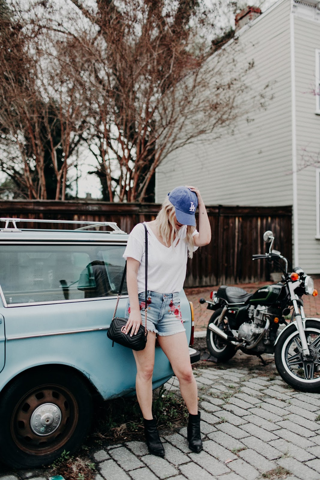 baseball hat fashion cathclaire blog