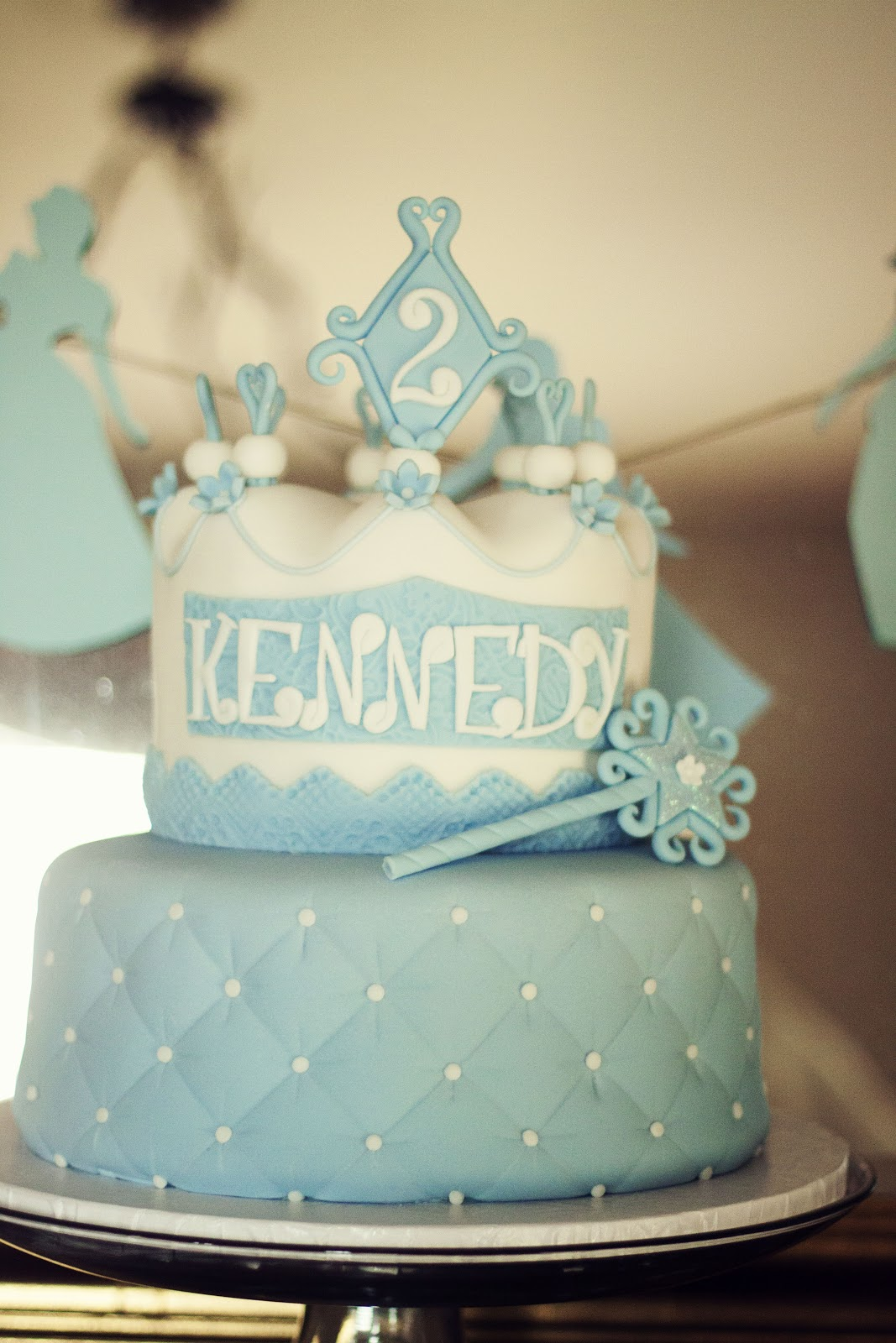 Kennedys Second Cinderella Birthday Party The Details