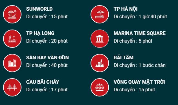 Kết nối tiện ích hạ tầng của Tuần Châu Marina