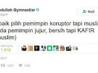 """Bantahan Aa Gym Atas Tweet """"Lebih Baik Pilih Pemimpin Koruptor Tapi Muslim"""""""