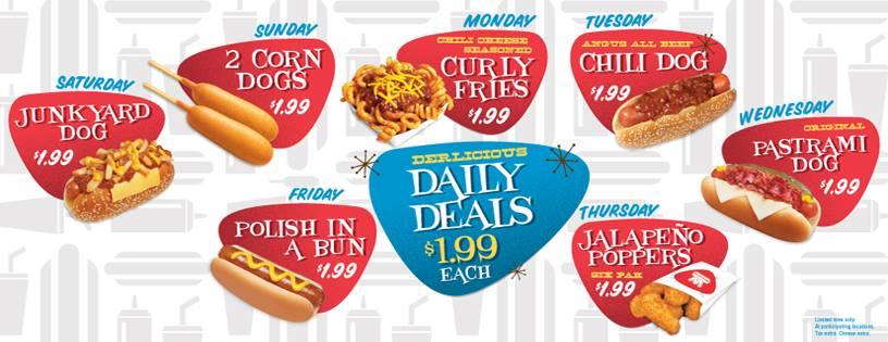 News Wienerschnitzel New 199 Daily Deals Brand Eating
