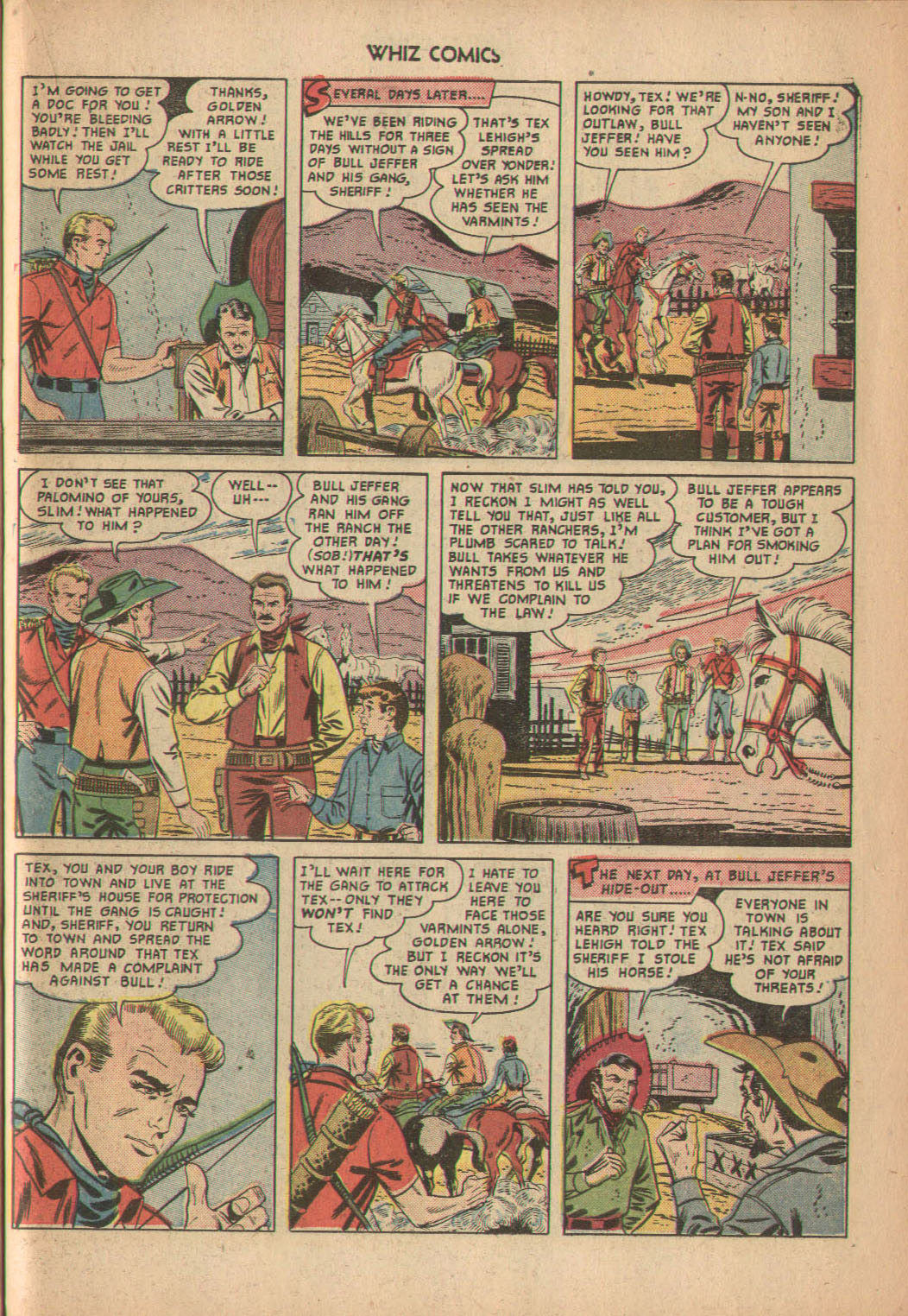 WHIZ Comics issue 137 - Page 23
