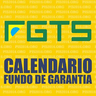 Calendário de pagamento do FGTS 2017