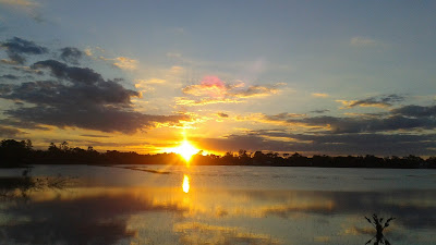 sunset, lake, pictures, photography