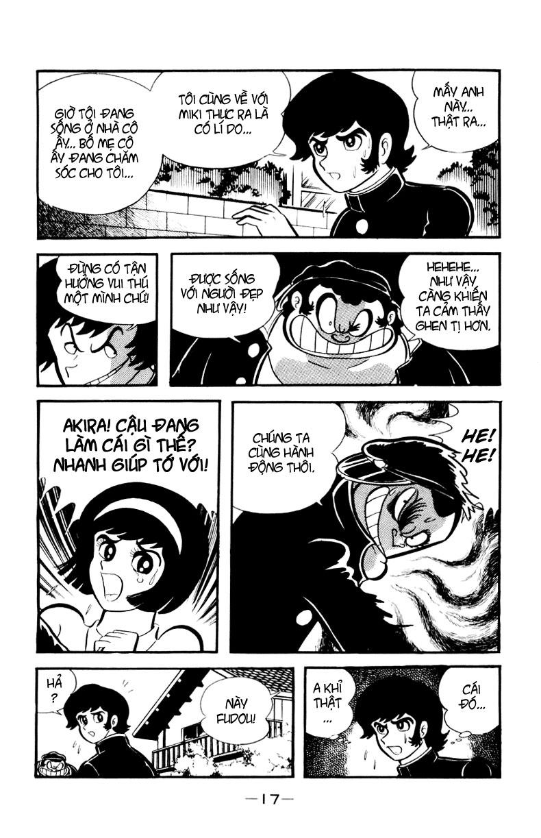 DevilMan chapter 1.2 trang 11