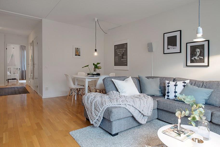 Minimalistyczne mieszkanie w stylu skandynawskim - wystrój wnętrz, wnętrza, urządzanie domu, dekoracje wnętrz, aranżacja wnętrz, inspiracje wnętrz,interior design , dom i wnętrze, aranżacja mieszkania, modne wnętrza, styl skandynawski, scandinavian style, biała wnętrza, minimalizm, salon