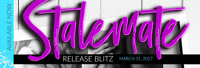 RELEASE BLITZ – STALEMATE by LISA SUZANNE