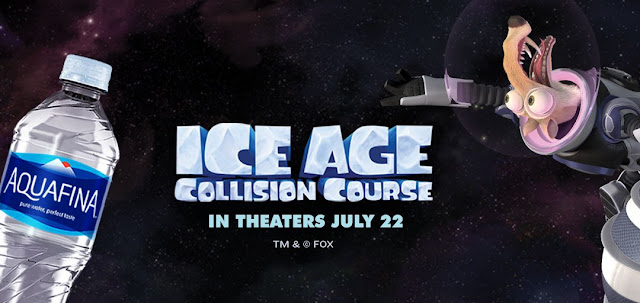 Aquafina is teaming up with Ice Age: Collision Course to give away space camp trips & Ice Age prizes all summer long. Prepare to blast off into one stellar summer!