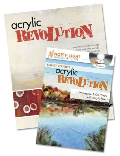 Painting Acrylic with Nancy Reyner Book and DVD Bundle (North Light Bringing Art to Life) by Nancy Reyner