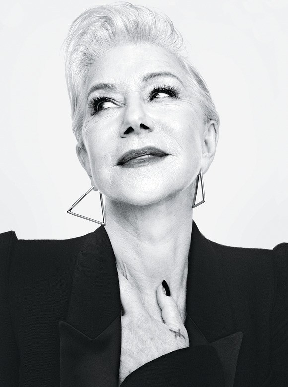 Helen Mirren on the September 2017 Cover of Allure Magazine