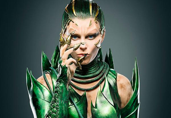Confira first look de Elizabeth Banks como a vilã Rita Repulsa no novo Power Rangers!