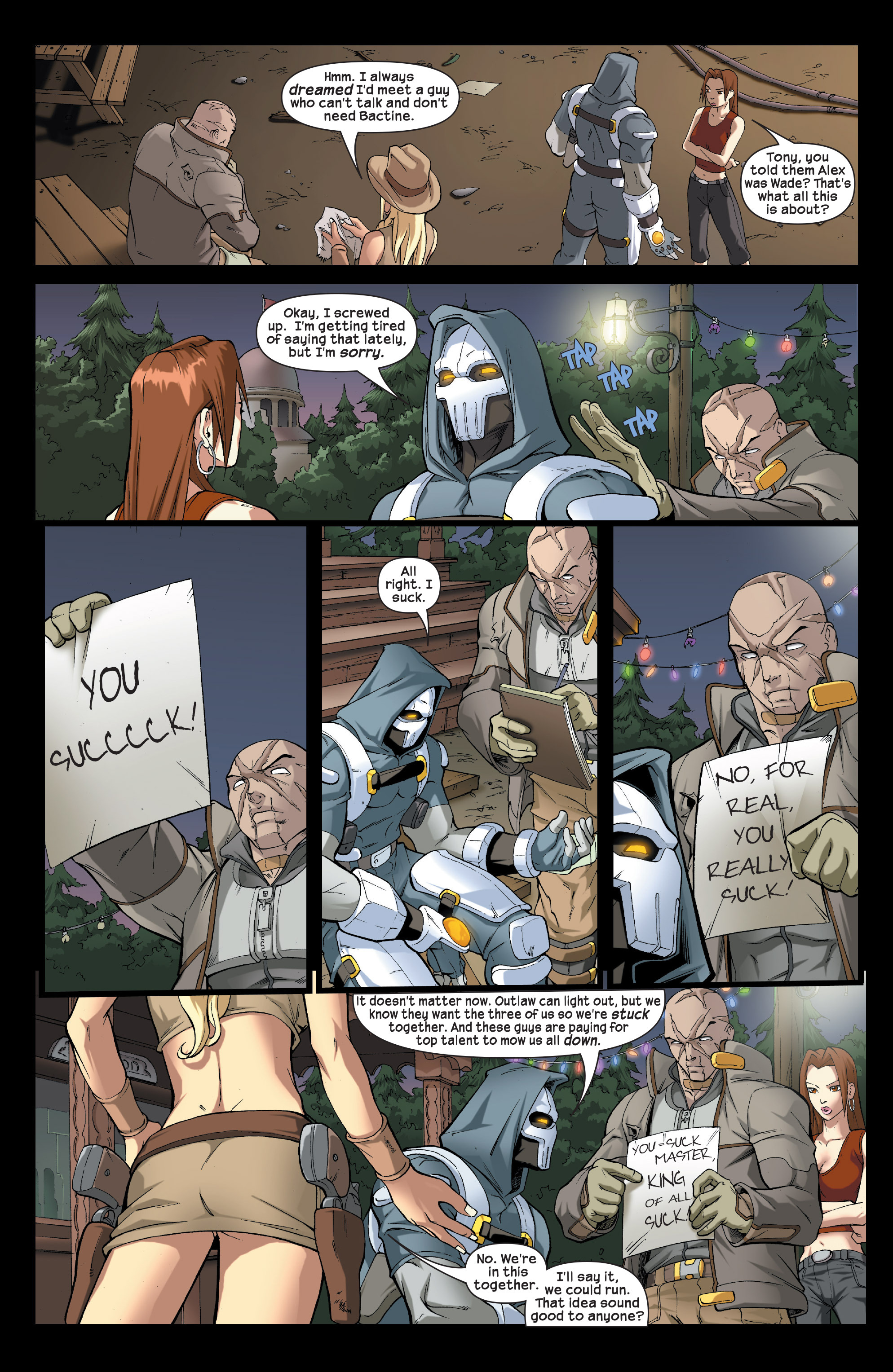 Read online Agent X comic -  Issue #5 - 21
