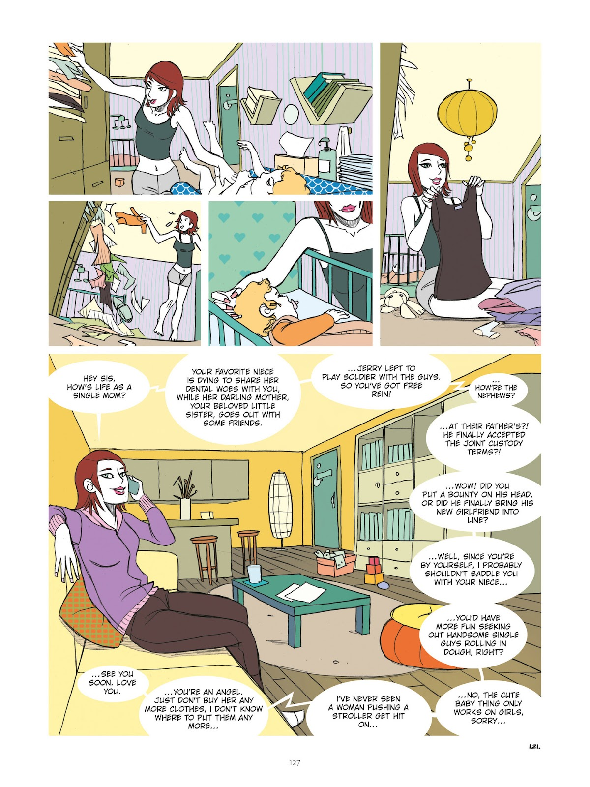 Read online Diary of A Femen comic -  Issue # TPB - 129