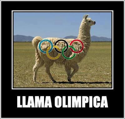 Llama olimpica