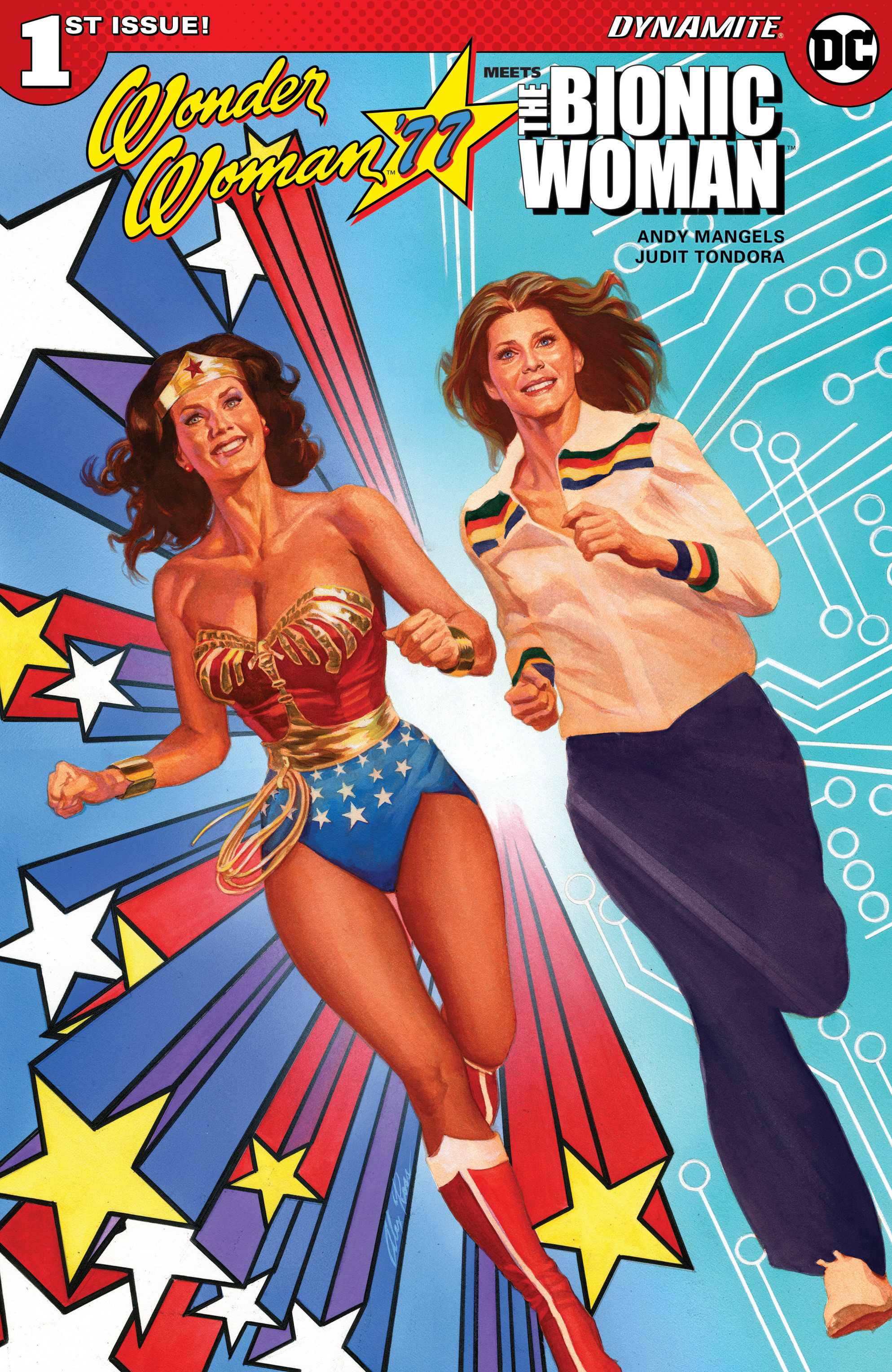 Read online Wonder Woman '77 Meets The Bionic Woman comic -  Issue #1 - 2