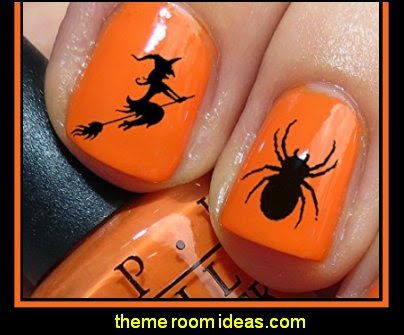 Halloween Nail Decals  WaterSlide Nail Art Decals