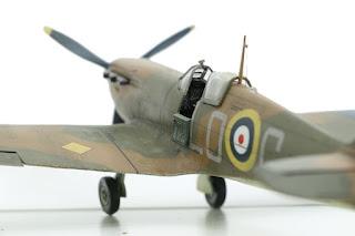 Spitfire MkI d'Airfix au 1/48.