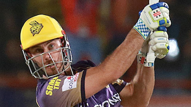 Chris Lynn Thrashing Knock to lead Kolkata Knight Riders to victory