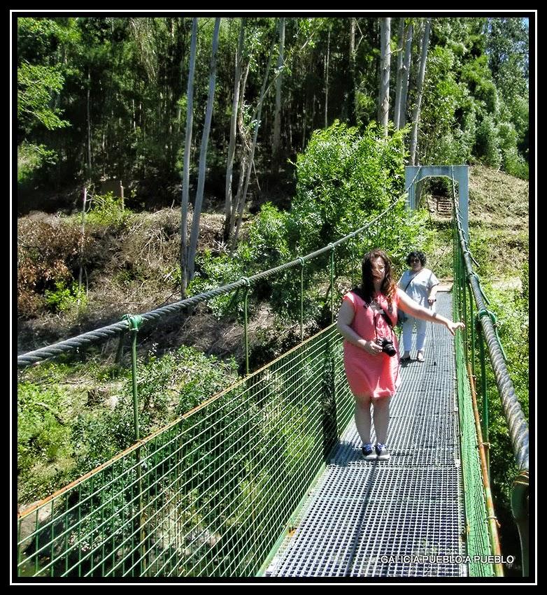 Puente colgante noia