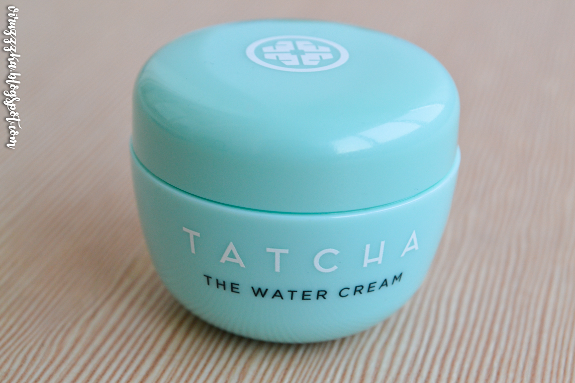 Ipsy Glam Bag TATCHA The Water Cream Review Photos