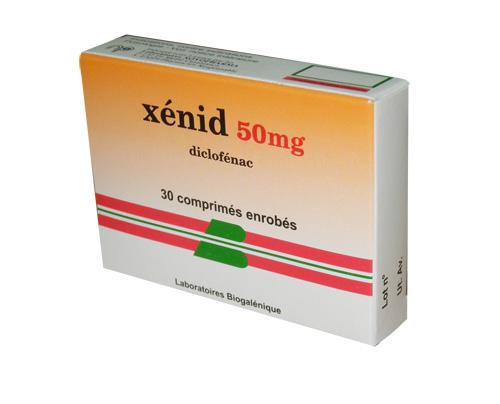 دواء كزينيد دكلوفناك الصوديوم -xenid diclofénac de sodium
