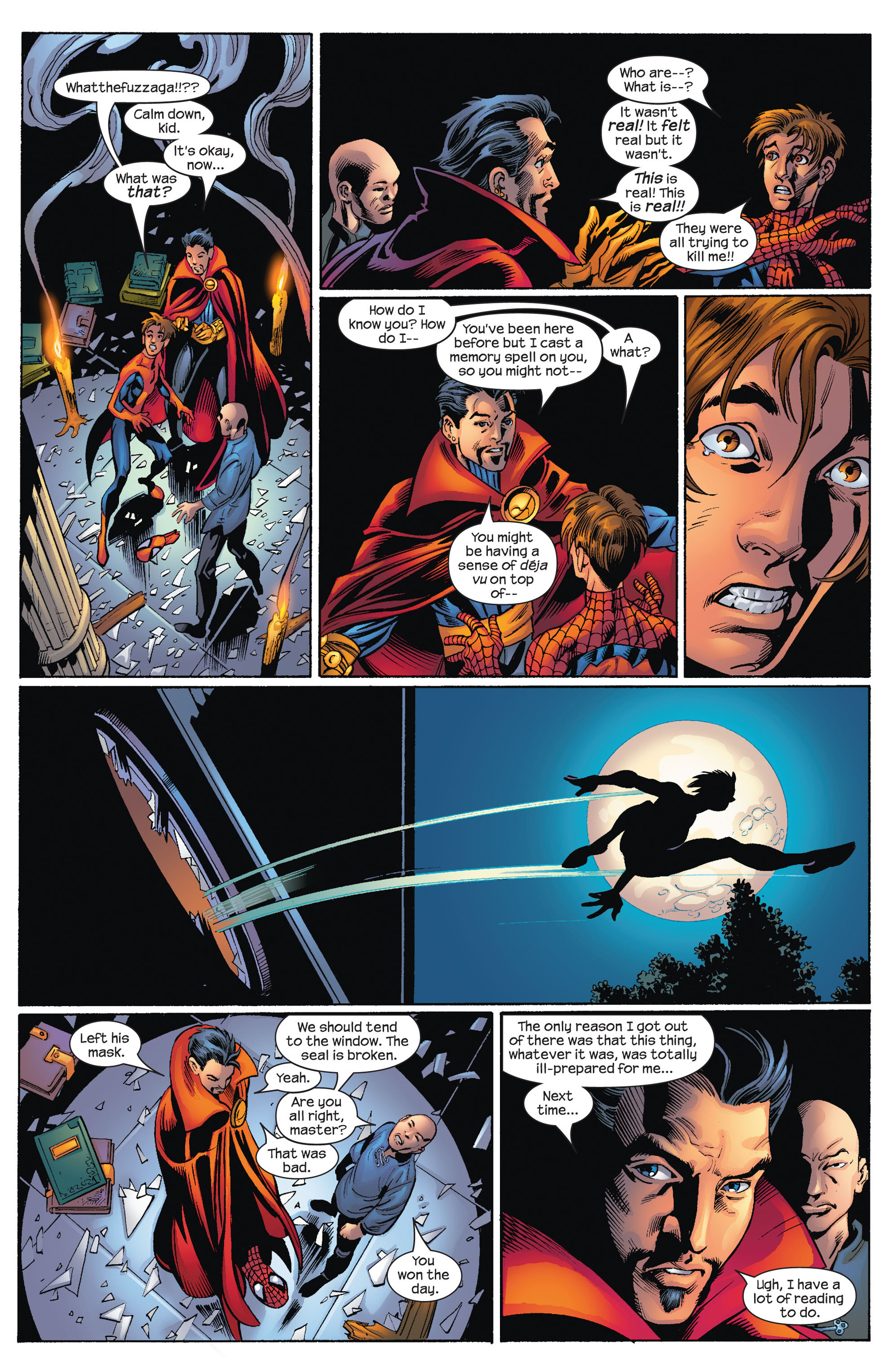 Read online Ultimate Spider-Man (2000) comic -  Issue #71 - 23