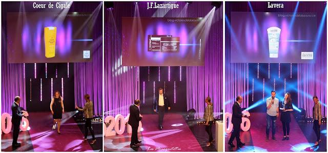 Lauréat Les Victoires de la Beauté 2015/2016 : Coeur de Cigale - J.F. Lazartigue - Lavera - Les Mousquetettes©