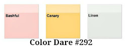 Color Dare #292 - Closes Thur May 24th