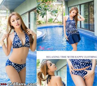 Fang Qi Yuan New Bikini Shots 1