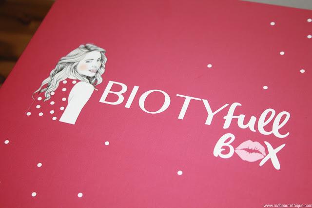 biotyfull box beauté bio produits cosmétiques noel cadeaux pas cher serge louis alvarez bb crème cream blog beauté maquillage kabuki sérum universel peaux sèches naturel