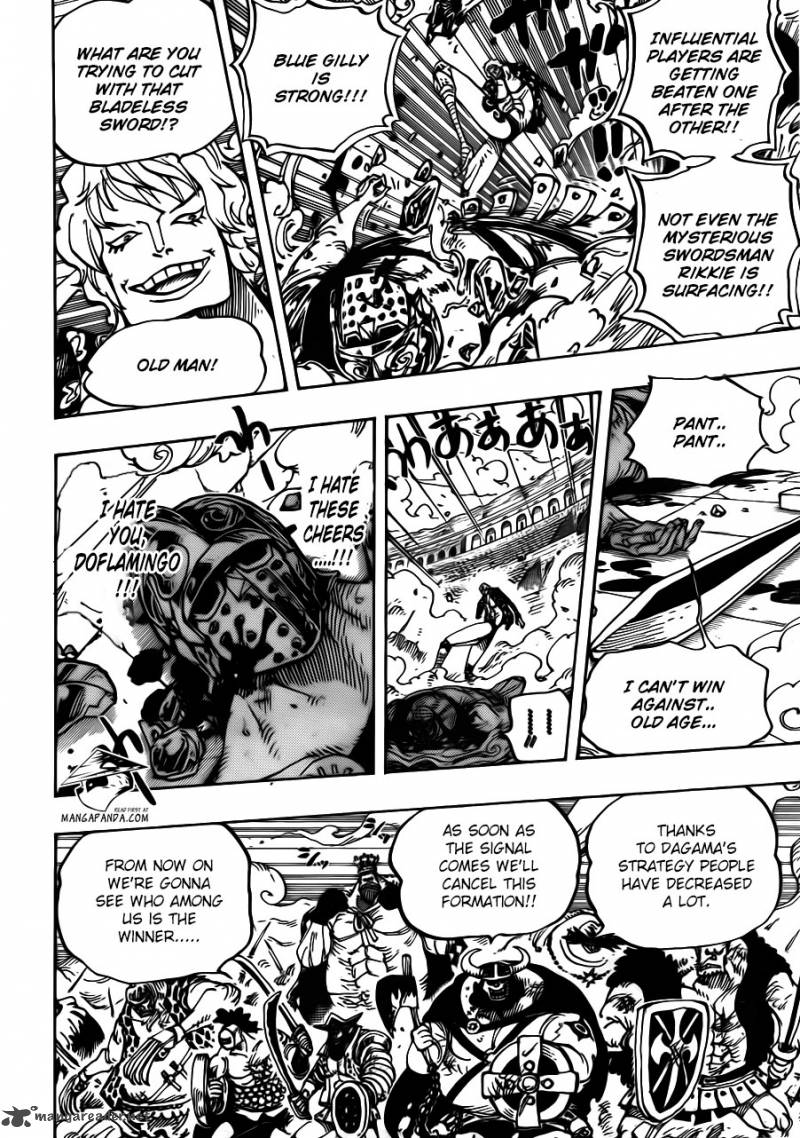 One Piece Ch 709: King Punch!!