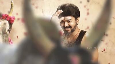 New Look Vijay HD Image In Mersal Movie 2017