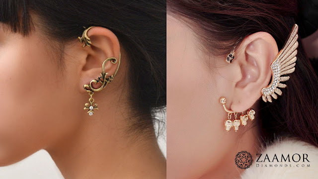 Ear Cuffs - Zaamor Diamonds
