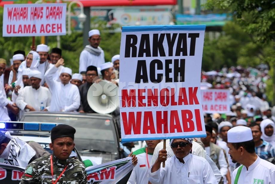 Tidak Hanya Banser Sidoarjo, Rakyat Aceh juga Menolak Wahabi