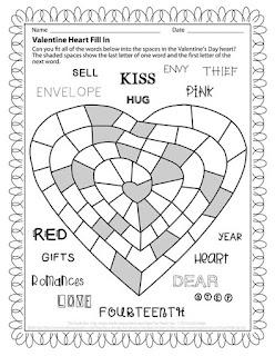 The Puzzle Den - Valentine Heart puzzle