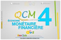 Économie monétaire et financière : |QCM 4|