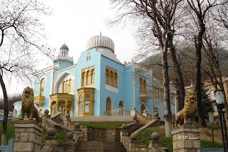 Железноводск, Дворец эмира Бухарского,  санаторий им. Тельмана