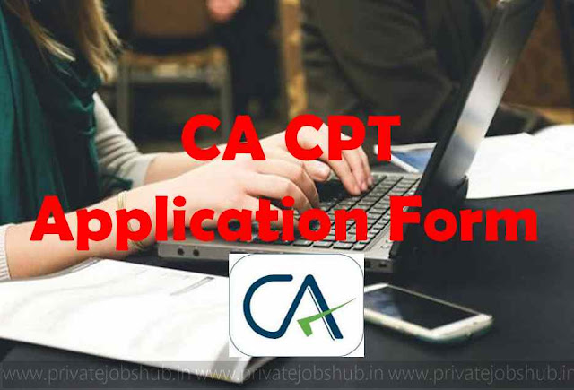 CA CPT Application Form