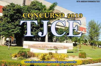 TJCE anuncia concurso público para servidores