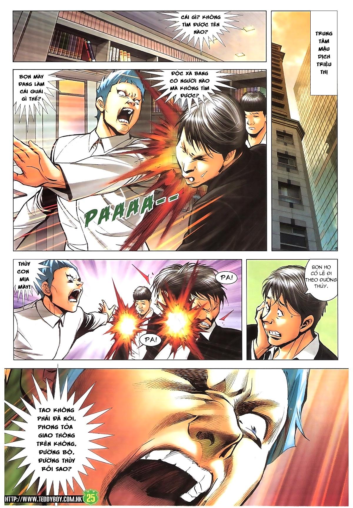 Người Trong Giang Hồ - Chapter 1616: Triệu Kế Bang vs Đinh Dao - Pic 23