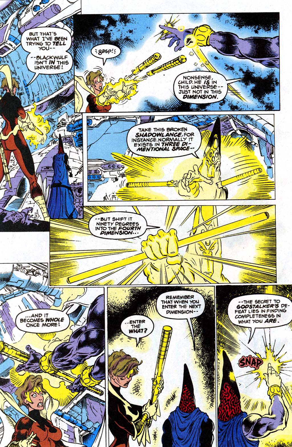 Read online Blackwulf comic -  Issue #9 - 16
