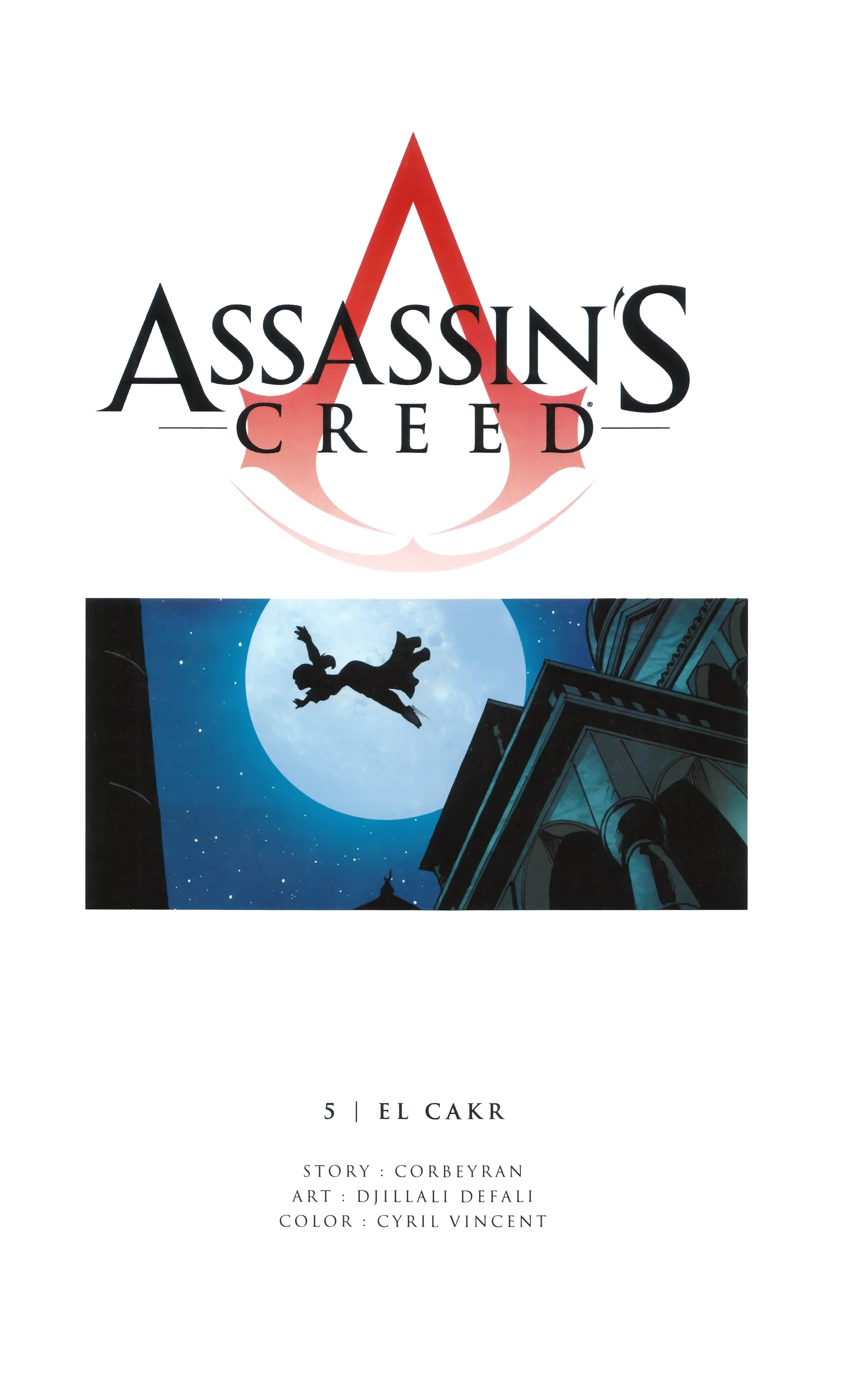 Read online Assassin's Creed (2012) comic -  Issue #5 - 2