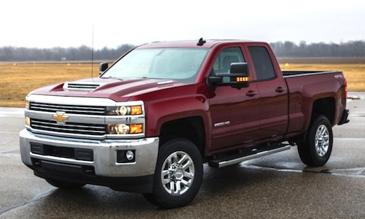 2018 Chevy Silverado 2500 Redesign
