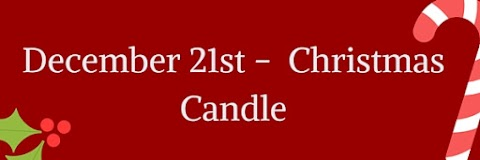 December 21st - Christmas Candle