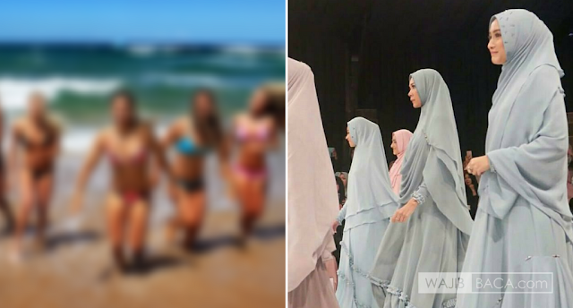 """""""Kenapa Kalian Menyiksa Wanita dengan Menutupi Mulai Kepala Sampai Kaki?"""" Tanya Pemuda Non Muslim"""