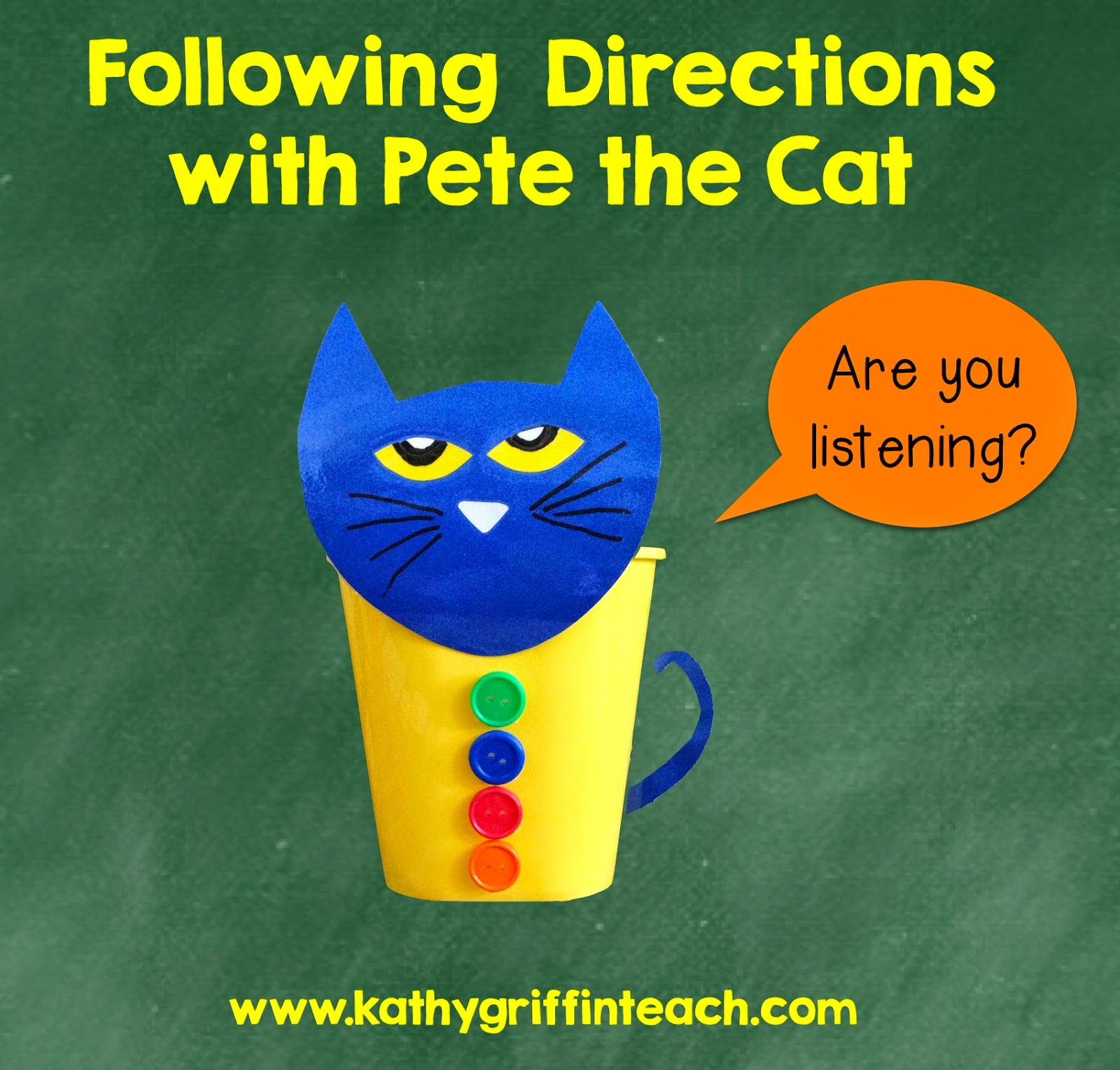 following directions activities with pete the cat kathy griffin 39 s teaching strategies bloglovin. Black Bedroom Furniture Sets. Home Design Ideas
