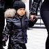 North West wore this kids version of Heron Preston's СТИЛЬ Turtleneck