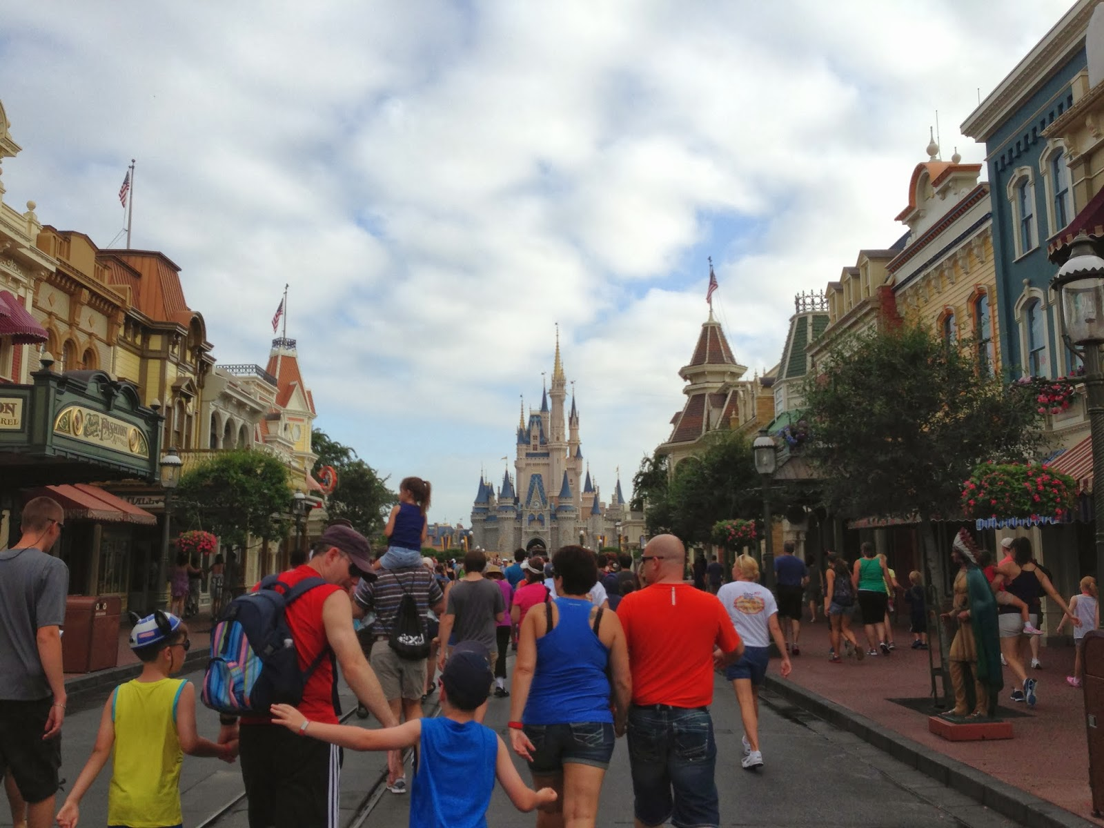 Cinderella's Castle, Main Street, Magic Kingdom